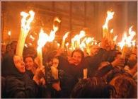 Шокирующая правда о нисхождении благодатного огня от Патриарха Иерусалимского Феофила