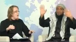 Американский священник принял ислам в прямом эфире (Видео)